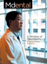 A Window of Opportunity - University of Maryland, Baltimore