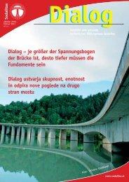 Dialog – je größer der Spannungsbogen der Brücke ist ... - Sodalitas