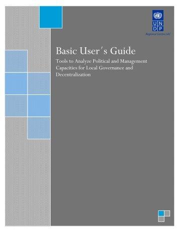 Basic User´s Guide - regionalcentrelac-undp.org