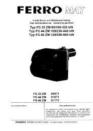 FERRO MAT zweistufiger Gas-Gebläsebrenner (1.124 KB)