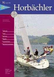 Die Regattasaison 2006 - Yacht Club Zug