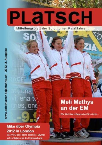 platsch 2/2012 - Solothurner Kajakfahrer