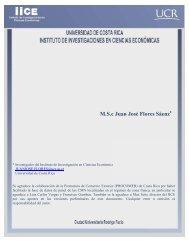 M.S.c Juan José Flores Sáenz - Cepal