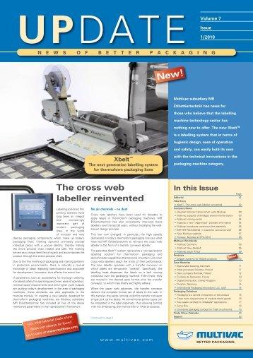 Customer Magazine UPDATE I/2010 - MULTIVAC