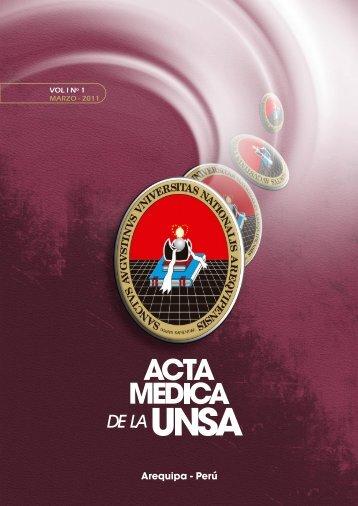 Revista completa - Facultad de Medicina de la UNSA