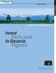 Infrastructure of innovation - Invest in Bavaria