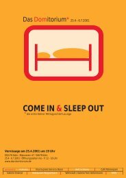 COME IN & SLEEP OUT