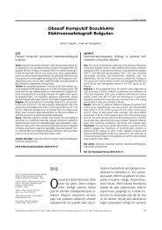 Obsesif Kompulsif Bozuklukta Elektroensefalografi Bulgular› - Klinik ...