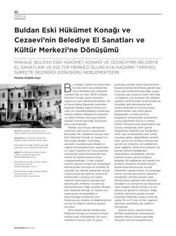Buldan Eski Hükümet Kona¤› ve Cezaevi'nin Belediye El Sanatlar ...