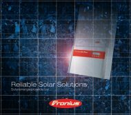 103711 Fronius Broschüre Projektgesellschaften