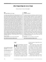 psiko makaleler - Klinik Psikofarmakoloji Bülteni