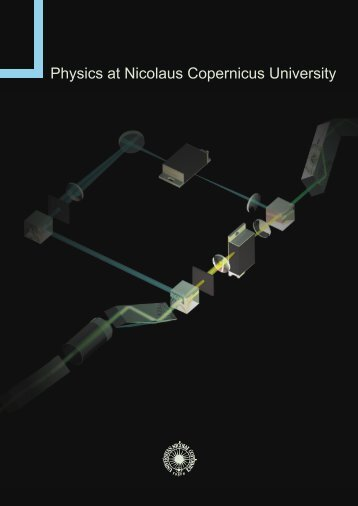 Physics at Nicolaus Copernicus University