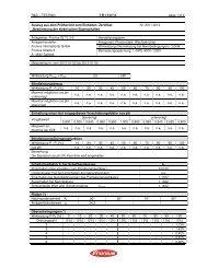 Fronius IG TL 3.0_SIT_TR15072_Elektrische Eigenschaften von ...