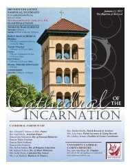 Bulletin 1-13-2013.pub - Cathedral of the Incarnation