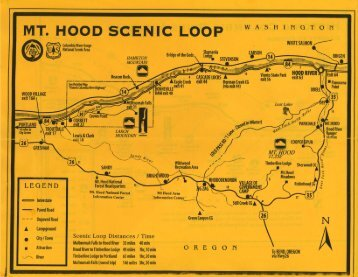 Download the Mt. Hood area Map (PDF) - Cinema & Lifestyle