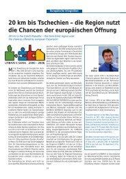 die Region nutzt die Chancen der europäischen Öffnung - Ebn24