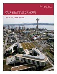 Our seattle Campus - Bill & Melinda Gates Foundation