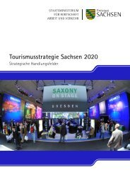 Tourismusstrategie Sachsen 2020 - Sächsisches Staatsministerium ...