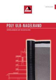 POLY ULB-NAGELRAND - bei Binné & Sohn
