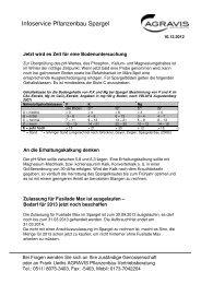 2012-12-10 SK Spargel und Erdbeeren - AGRAVIS Raiffeisen AG
