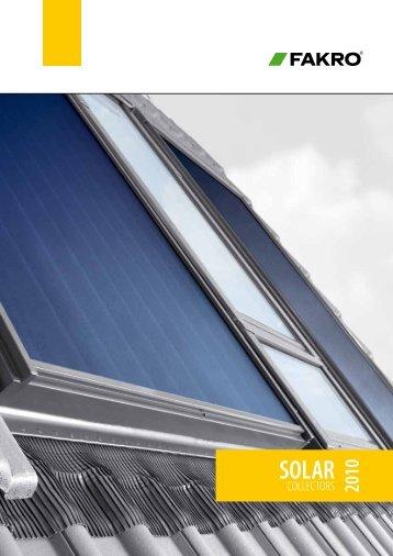 Fakro solar collectors - Tsialos