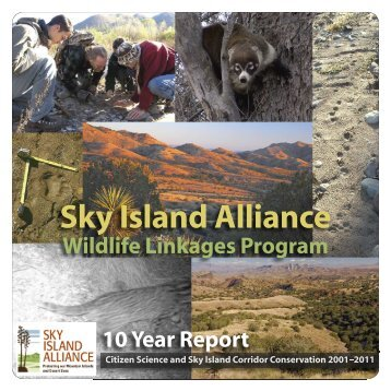 Read the Wildlife Linkages Report here (4MB). - Sky Island Alliance