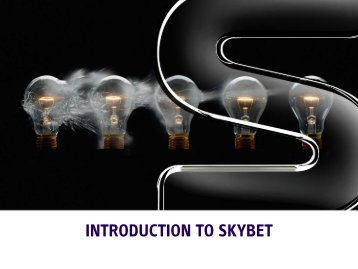 Introduction to skybet - BSkyB Corporate - Sky