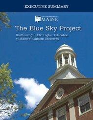 24953-Blue Sky Executive Sum REV2_Layout 1 - University of Maine