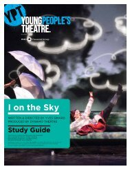 I on the Sky Study Guide - Young People's Theatre