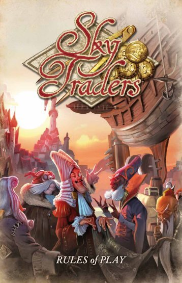rules for Sky Traders - Fantasy Flight Games