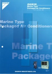 Packaged Air Conditioners R22 Series