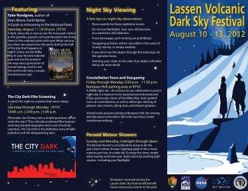 Lassen Volcanic Dark Sky Festival - National Park Service