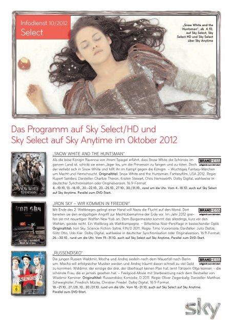 Sky Programm Select