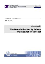 The Danish flexicurity labour market policy concept