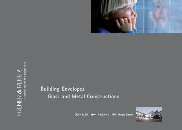 Building Envelopes, Glass and Metal Constructions - FRENER ...