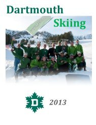 Dartmouth Skiing 20 13 - Dartmouth College