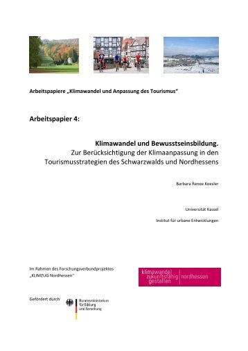 Arbeitspapier 4 - KOBRA - Universität Kassel