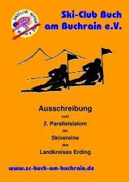 Ausschreibung Parallelslalom 2011 - Ski-Club Auerbach eV
