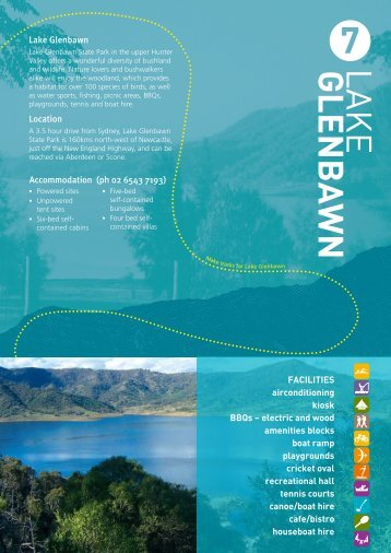 Lake Glenbawn brochure - State Parks
