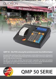 QMP 50 SERIE - FS-Kassensysteme