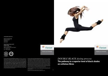 DOUBLE BLACK_BROCHURE - Clariant