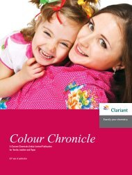 Colour Chronicle - April 2012 - Clariant