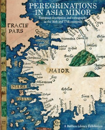 PEREGRINATIONS IN ASIA MINOR - University of Melbourne