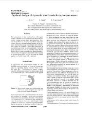 Optimal design of dynamic multi-axis force/torque sensor ... - SIRSLab
