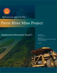 Pierre River Mine Project