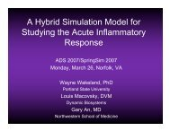 A Hybrid Simulation Model for Studying the Acute - Portland State ...