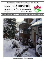 1.Qu. 2010 - Naturfreunde Offenbach