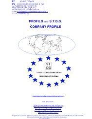 PROFILO dd ee ll ll oo S.T.D.G. COMPANY PROFILE - desa