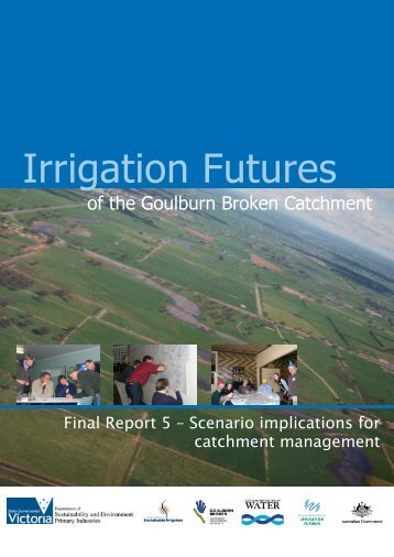Irrigation Futures - Department of Natural Resources and Environment