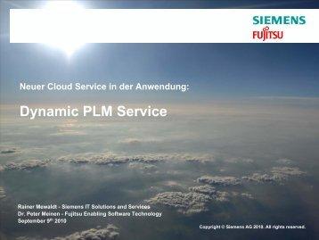 Cloud Computing: The SIS approach - Cloud-Practice.de